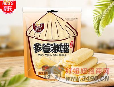 豪氏多谷米饼蛋黄味388g