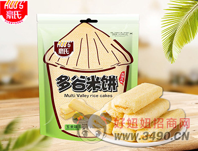 豪氏多谷米饼玉米味388g