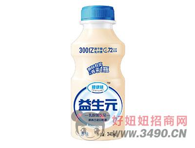 臻优味益生元乳酸菌饮品340ml原味