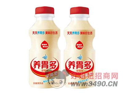 养胃多乳酸菌饮品340ml草莓味