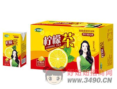 浩明柠檬茶250ml