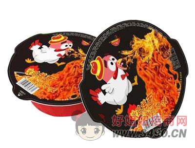 火鸡面辣鸡肉味