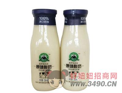 蓝豹卡奇原味酸奶330ml