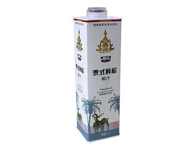 椰乐泰式鲜榨椰汁植物蛋白饮料1L