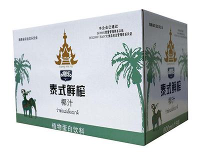 椰乐泰式鲜榨椰汁箱装