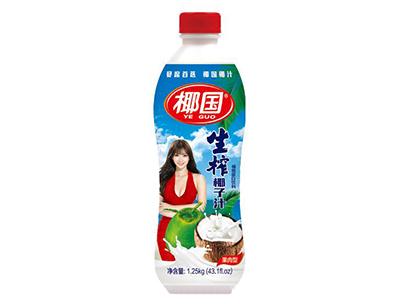 椰国生榨椰子汁1.25kg