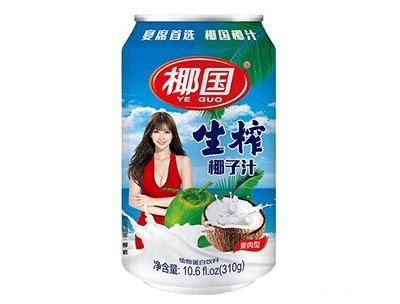 椰国生榨椰子汁310g