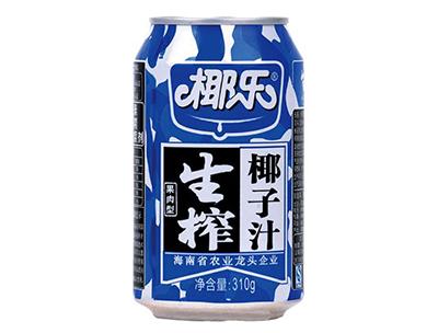 椰乐果肉型生榨椰子汁310g
