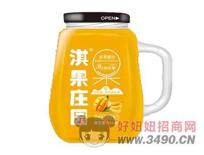 淇果庄园芒果复合果汁345ml