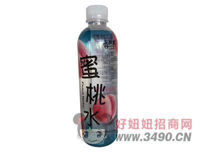 爱加壹蜜桃水果味饮料500ml