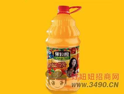 金保罗果粒橙2.5L