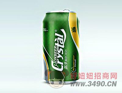 晶淳 狮牌啤酒 330ml