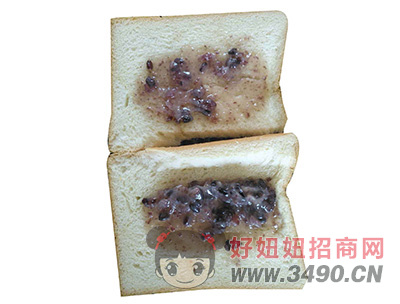 红豆面包展示图