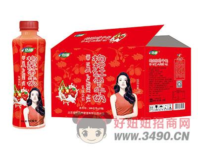 浩明枸杞红枣牛奶500ml