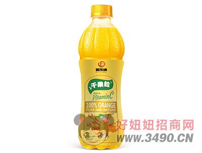 瑞乐康千果粒橙汁饮料500ml