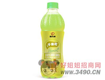 瑞乐康千果粒菠萝汁饮料500ml