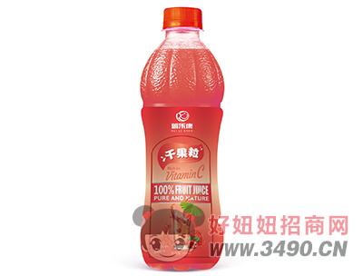 瑞乐康千果粒山楂汁饮料500ml