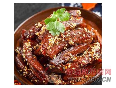 四川麻辣五香牛肉干120g