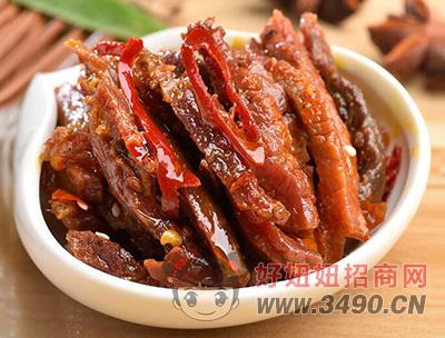 四川香辣谗嘴牛肉干400克