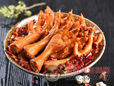 四川特产香辣鸡爪160g