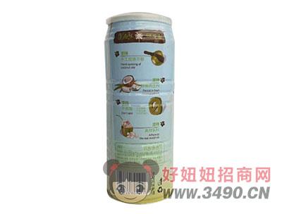 椰花香生榨椰子汁960g背面
