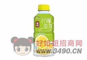 柠檬泡泡柠檬风味饮料460g