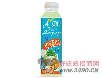 优贝哈密瓜汁饮料500ml
