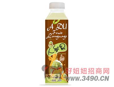 优贝人参果果汁饮料500ml