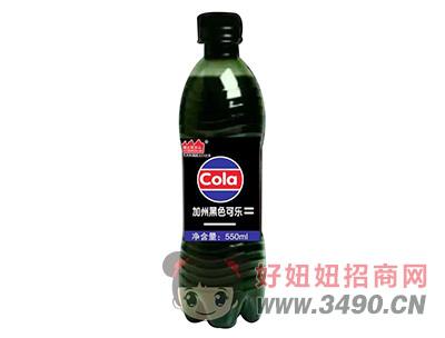 豫友百岁山加州黑色可乐550ml瓶装