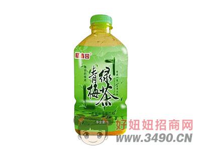 膳鑫园青梅味绿茶饮料1L