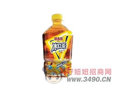 膳鑫园冰红茶柠檬口味1L