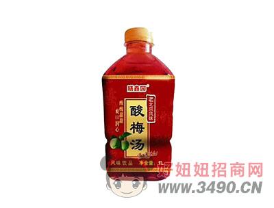 膳鑫园老北京风味酸梅汤饮品1L