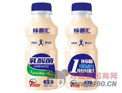 绿源汇原味乳酸菌风味饮品350ml