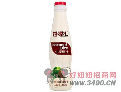 绿源汇生榨椰汁330ml