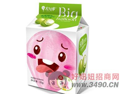 大气球抹茶qq夹心巧克力豆35g