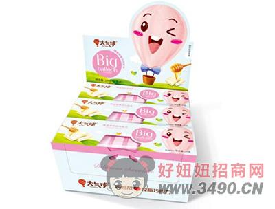 大气球蜂蜜原味白巧克力盒装