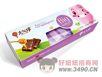 大气球蜂蜜原味53%黑巧克力31g