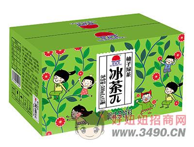 旭日升冰茶π柚子绿茶