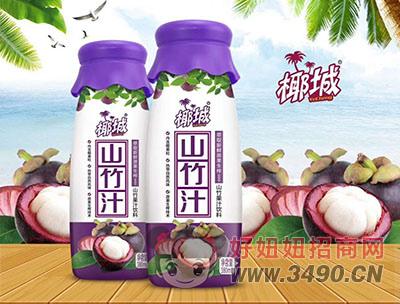 椰城山竹果汁饮料380ml