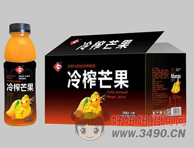 果浓冷榨芒果588mlX15瓶