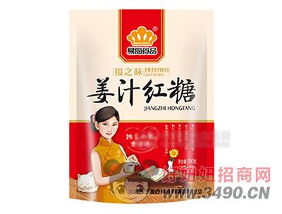 易厨食品姜汁红糖300g