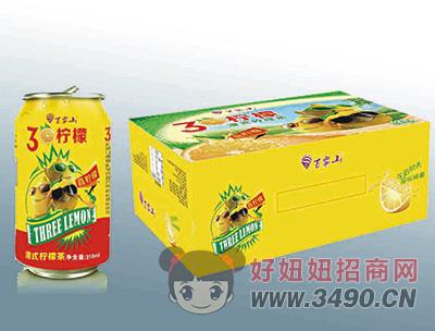 百雾山3个柠檬罐装310ml
