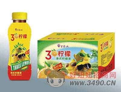 百雾山3个柠檬380mlX24瓶