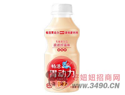 胃动力草莓味340ml乳酸菌