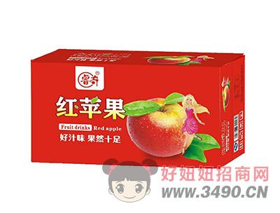 睿奇红苹果果味饮料箱装