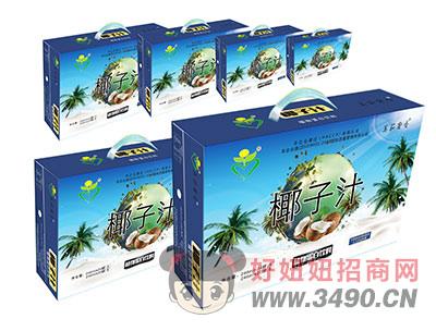 美茹奢香椰子汁植物蛋白饮料礼盒