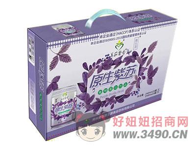 美茹奢香园生紫苏植物蛋白饮料礼盒
