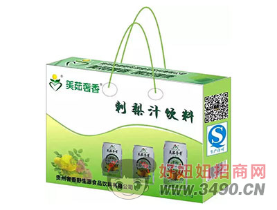 美茹奢香刺梨汁饮料礼盒