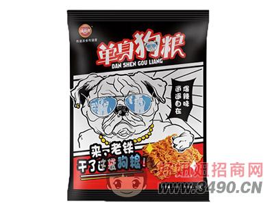 �尚来单身狗粮爆辣味干吃面55g