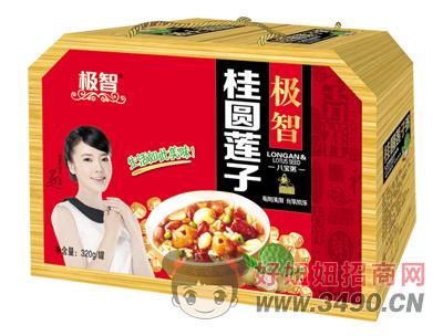 极智桂圆莲子八宝粥320g×8罐